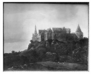 Landschap met kasteel Bentheim
