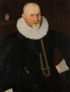 Portret van Berndt Spaen (?-1598)