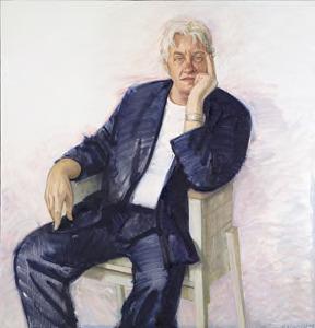 Portret van Anthon Beeke (1940- )