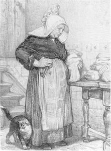 Een Brabantse boerin