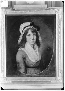 Portret van waarschijnlijk Frederica Maria Isabella Benjamina van der Capellen (1780-1810)
