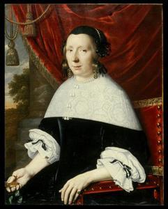 Porret van een onbekende vrouw
