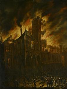 De brand in het Amsterdamse stadhuis in 1652