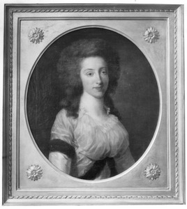Portret van Sara Maria van Loon (1761-1805)