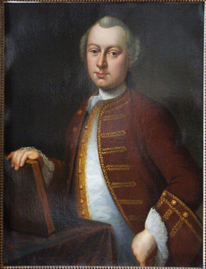 Portret van Johan Hubert van Slijpe ( -1791)