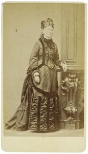 Portret van Grietje van Heloma (1852-1913)