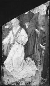 Het sterfbed van Maria (fragment)