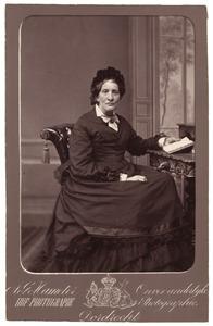 Portret van Hendrika Catharina Weymans