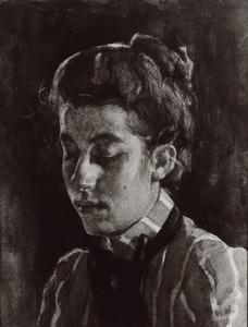 Portret van Elisabeth Caroline Arntzenius (1881-1936)