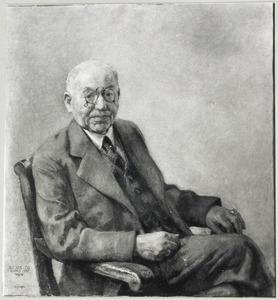 Portret van Alexander Jacobus Hendrix (1867- )