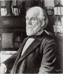 Portret van Hendrik Cornelius Rogge (1831-1905)