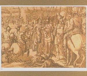 Giovanni de' Medici dwingt het Zwitserse leger tot overgave