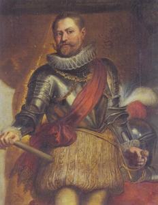 Portret van aartshertog Ernst van Oostenrijk (1553-1595)