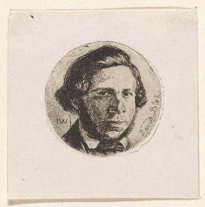 Portret van David Blok (1823-1904)