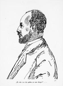Portret van Gerard Abraham van Rijnberk (1875-1953)