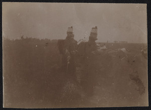 Militairen tijdens een manoeuvre