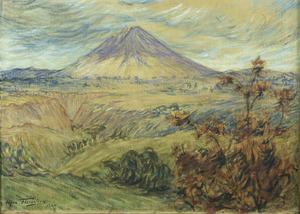 Gunung Sinabung op Java