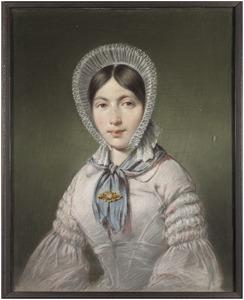 Portret van Marrianne Annetta Geertruijda Verhoeff (1816-1894)