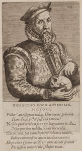 Portret van Hieronymus Cock (1518-1570)