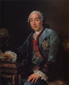 Portret van Dmitry  Mikhaylovich Golitsyn (1721-1793)