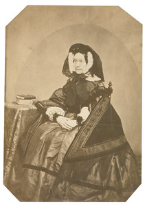 Portret van Justina Maria Wilhelmina Rengers (1795-1863)