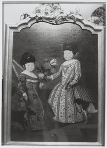 Dubbelportret van Gerrit Sakes Botma (1743-1751) en Trijntje Sakes Botma (1745-1825)