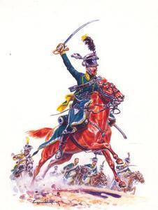 Officier van de Bereden Jagers (4e regiment)