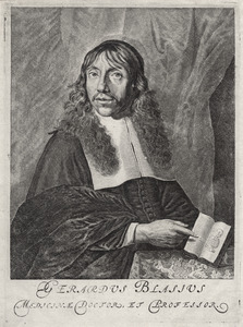Portret van Gerardus Blasius (1625-1692)