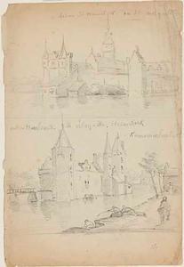 De kastelen Marquette en Assumburg bij Heemskerk