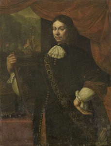 Portret van Cornelis Jacobsz. de Boer ( -1673)