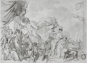 De verwoesting der Kunsten door de Gevolgen des Oorlogs