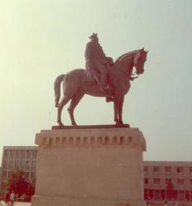 Ruiterstandbeeld van Mircea cel Batrân (1355-1416)