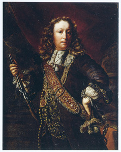 Portret van een man, waarchijnlijk Willem van der Zaan (1621-1669)