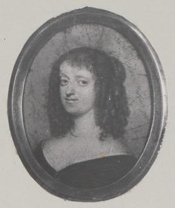 Portret van Sophie Amalie van Brunswijk-Lüneburg (1628-1685)
