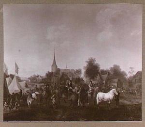 Paardenmarkt in Valkenburg