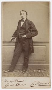 Portret van Carel Vosmaer (1826-1888)