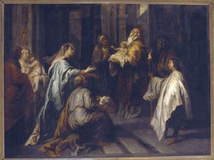 Simeon en de opdracht in de tempel
