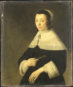 Portret van een 17-jarige vrouw