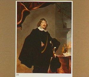 Portret van Johann Andreas, graaf von Liebenberg, burgemeester van Wenen (?)