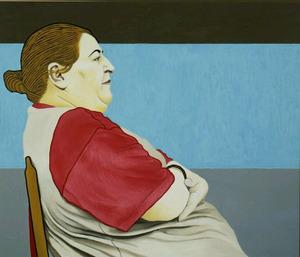 Portret van Azza El Karchi