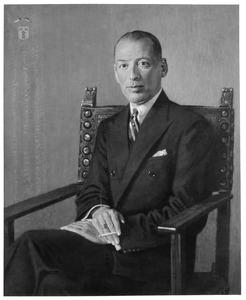 Portret van Abraham Adriaan Reepmaker (1895-1967)