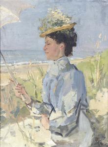 Portret van Martha Salomon (1870-1923)