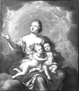 Allegorie op het overlijden van de Zweedse prinsen Gustav (1683-1685) en Ulrik (1684-1685)
