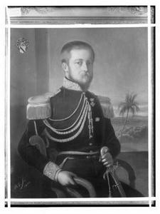 Portret van Jacob Carel Frederik van Heerdt (1817-1880)