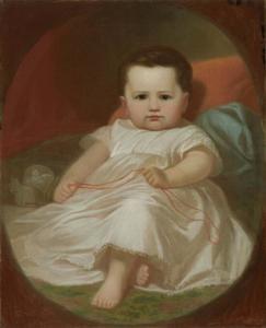 Portret van Mary Frances Ward