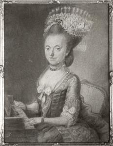 Portret van Digna Wendelia (Wendelina; Wendilia; Wendelie) Meyners (1747-1814)