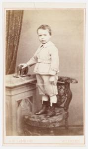 Portret van Adriaan Paets (1868-1913)