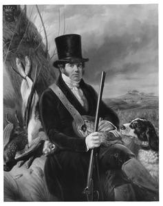Portret van Jacobus Josephus Baron van Rijckevorsel (1785-1862)