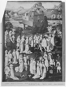 Tuin der Liefde aan het hof van Philips de Goede, in de tuinen van het kasteel van Hesdin