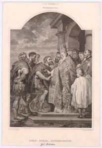 St. Ambrosius en Theodosius